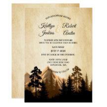 Wedding invitations from Nashville Custom Shirts.